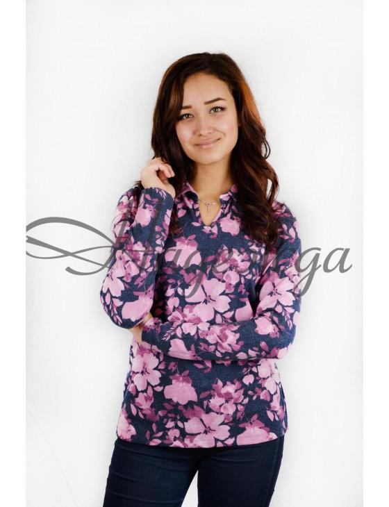 Блуза женская М-16 (розовый) р.44-62