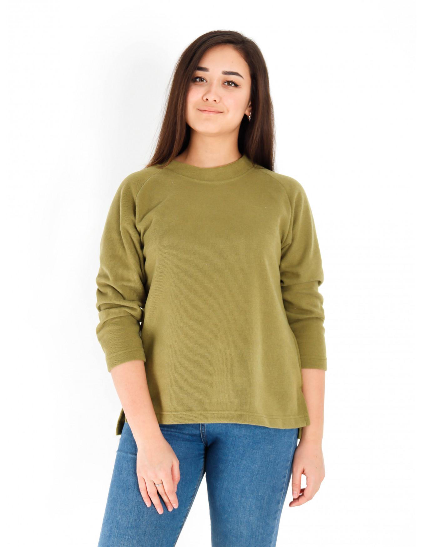 Блуза женская М-183 (горчичный) р.44-62