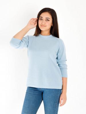 Блуза женская М-183 (голубой) р.44-62