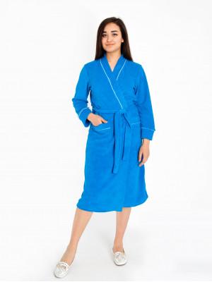 Халат женский М-111 (голубой) р.44-62