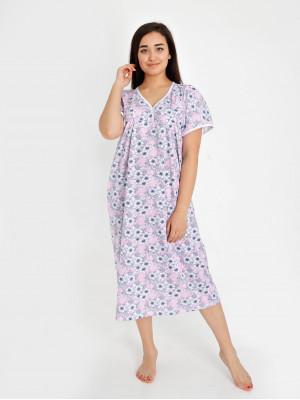 Сорочка женская М-3К (розовый) р.48-64