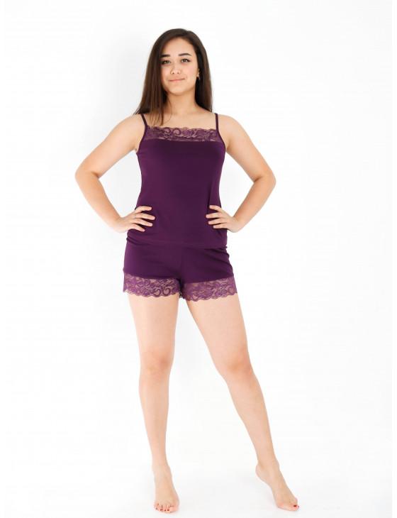 Пижама женская М-166 (фиолетовый) р.44-54