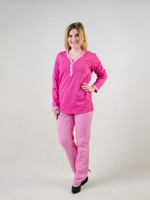 Пижама женская М-48 (розовый) р.44-54