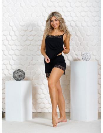 Пижама женская М-166 (черный) р.44-54