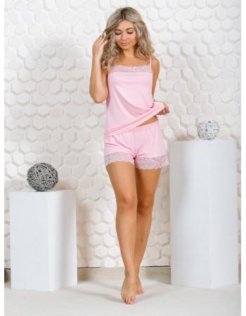 Пижама женская М-166 (розовый) р.44-54