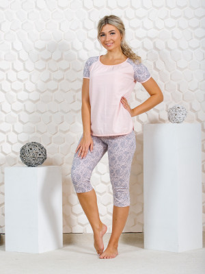 Пижама женская М-40 (розовый) р.44-62