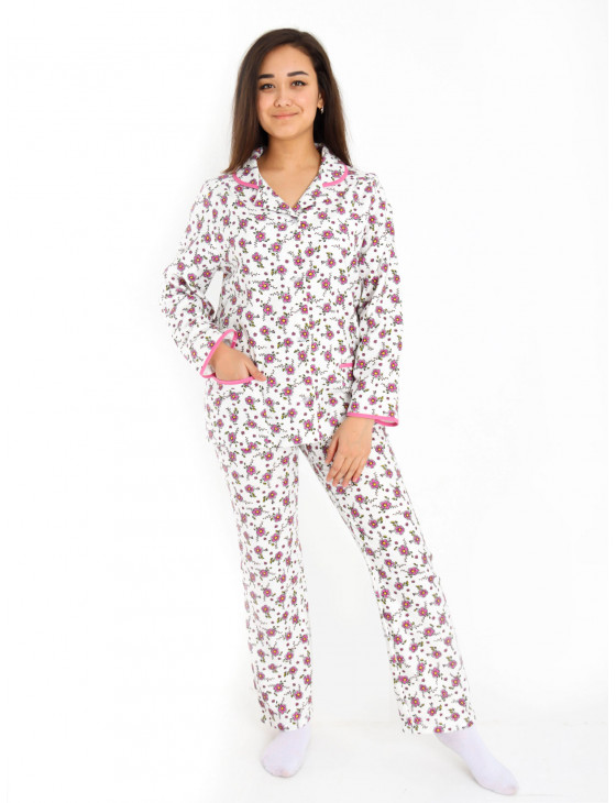 Пижама женская М-110 (розовая) р.46-62