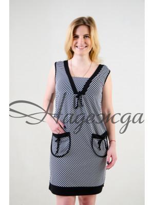 Платье М-123 (полоски) р.46-62