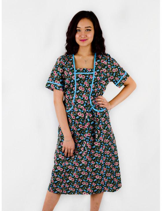 Платье женское М-32 (коричневый) р.46-70