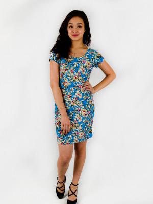 Платье женское М-125 (зеленый) р.44-58