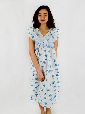 Сорочка женская М-1 (голубой) р.46-70