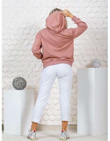 Худи женское М-188  (Розовая) р.44-56